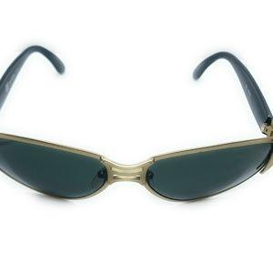 Jean Paul Gaultier Accessories - Jean Paul Gaultier Unisex Black/Gold Sunglasses
